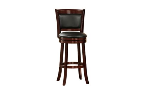 Cushioned Bar Stools With Backs by Padded Back 24 Quot Bar Stool At Gardner White