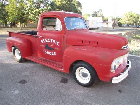 Nice patina 1951 Ford Pickups vintage for sale
