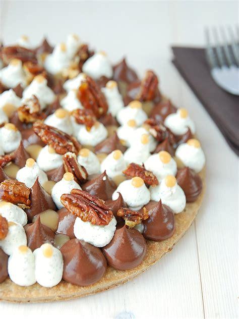 vous allez aimer cuisiner tarte au chocolat chantilly vanillé caramel au beurre
