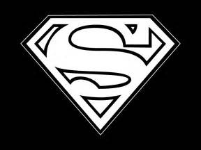 And Logo Black White Superman Pictures to Pin on Pinterest ...