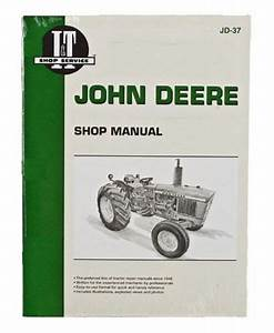 Shop Manual John Deere 1020 1520 1530 2020 2030 Tractor