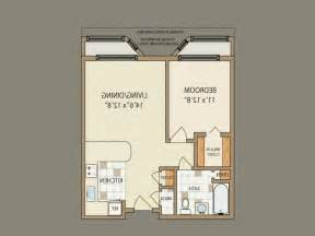 1 Bedroom 24X24 House Plans