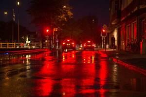 Free, Images, Road, Traffic, Night, Rain, Wet, City, Urban, Asphalt, Cityscape, Dark, Dusk