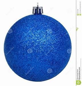 Boule De Noel Bleu : boule bleu fonc de no l d 39 isolement sur le blanc photo stock image 56701482 ~ Teatrodelosmanantiales.com Idées de Décoration