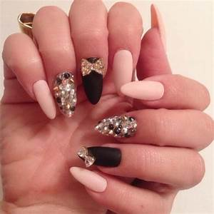 cute nail ideas with sparkles - Amazingly Cute Nail ...