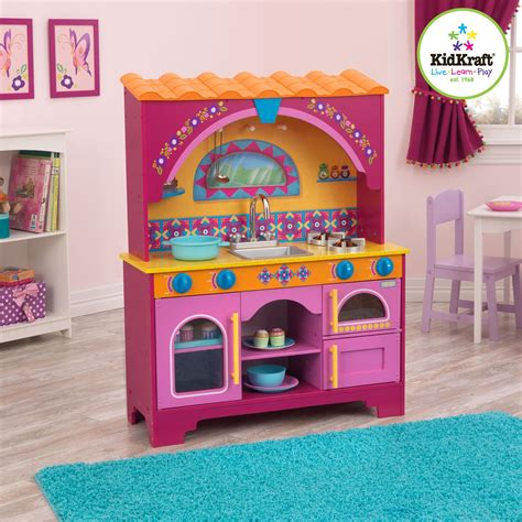 kidkraft dora the explorer play kitchen play kitchens at