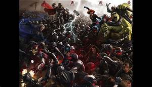 Comic-Con: Revelan el póster completo de 'Avengers 2: Age ...