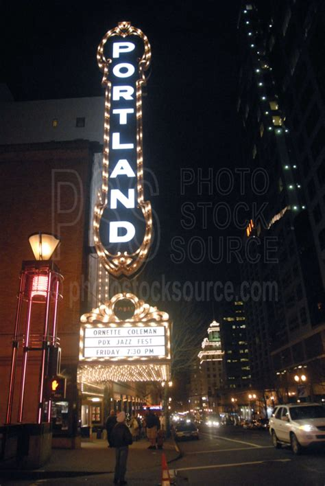 photo of portland theater by photo stock source building