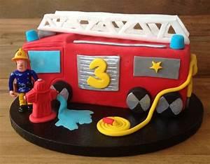 Die besten 17 Ideen zu Feuerwehr Kuchen auf Pinterest Feuerwehr torte, Feuerwehrkuchen und