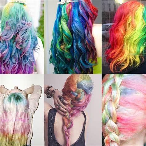 Colour Hair by 8 Color Set Hair Mascara Temporary Non Toxic Diy Hair