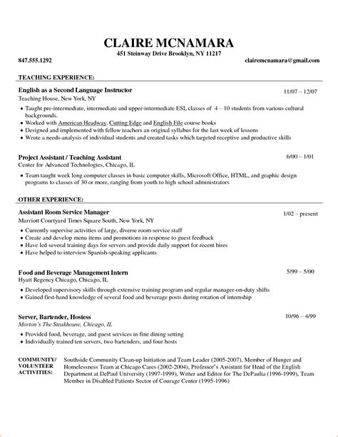 How To Write A Resume For Teachers by Doc 12791654 How To Write Resume For Teachers Resume Sles For Titles Bizdoska