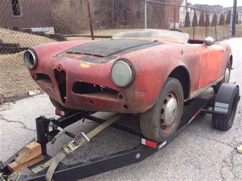1965 Alfa Romeo Giulia Veloce Spider Parts Car Matching