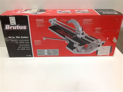 brutus tile saw 18 brutus 24 in professional tile cutter for porcelain and