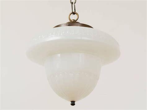 milk glass acorn pendant schoolhouse chandelier