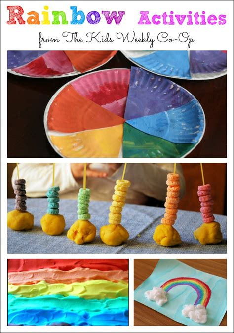 25 rainbow sensory activities for preschoolers mess for less 951 | rainbow activities 1