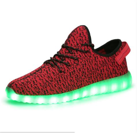 light up shoes size 4 new 2016 4 colors led shoes for adults mens led
