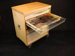 Western Dovetail Mobile tool cabinet - YouTube