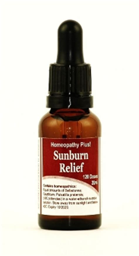 Best Thing For Sunburn Free Sunburn Relief Complex With Orders 30
