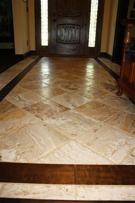 hardwood floors   traditional entry