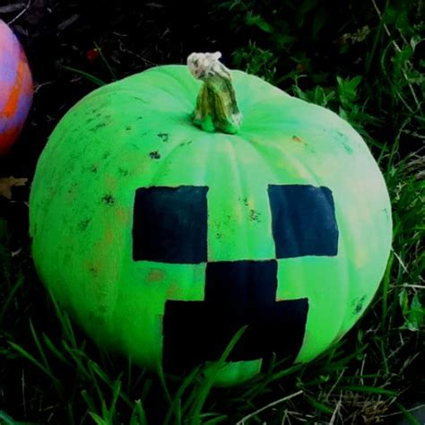 Creeper Pumpkin!  Minecraft  Pinterest  Guys, Pumpkins