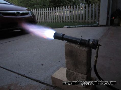 build  gas forge burner