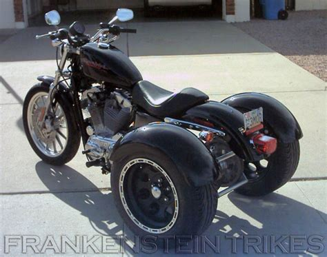 Harley Davidson Sportster Trike Kit