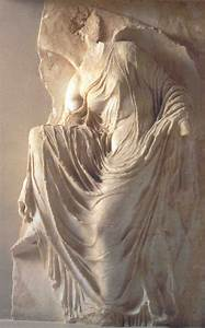 Relief sculpture: Nike fixing her sandal | Art History ...