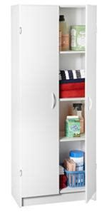 Closetmaid Pantry Storage Cabinet - closetmaid 8967 pantry cabinet white home