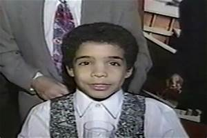 Baby Drake Dances At His Bar Mitzvah