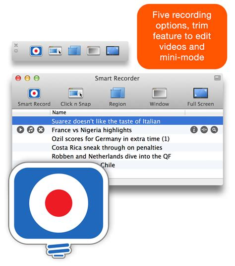 Smart Recorder For Mac By Shedworx