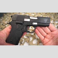 Colt New Agent Compact 1911 45acp Crimson Trase Laser