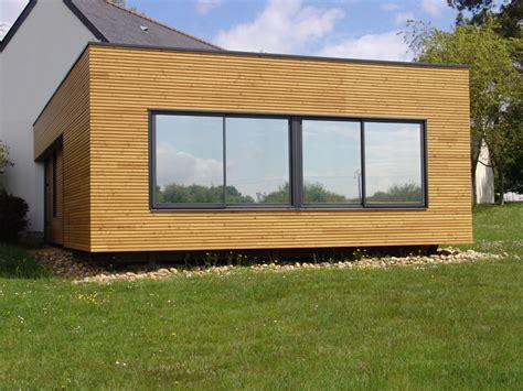 Module En Bois D'extension De Maison