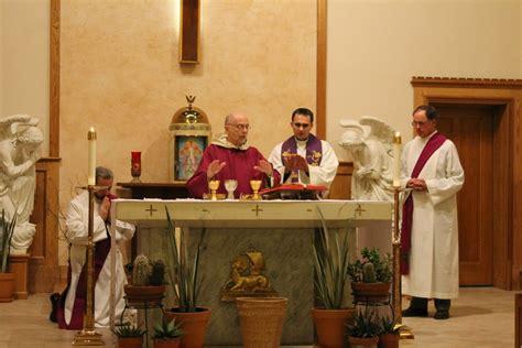 father mariusz koch visits   st michael netcong