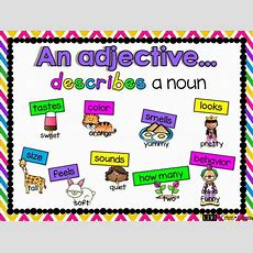 Let's Learn About Adjectives