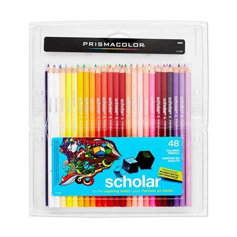 prismacolor 48 colored pencils prismacolor scholar colored pencils 48 pack
