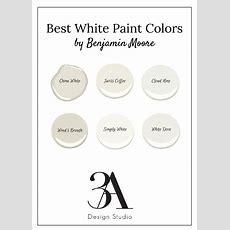 Best White Paint Colors — 3a Design Studio