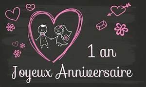 1 An Anniversaire : carte anniversaire mariage 1 an tableau ~ Farleysfitness.com Idées de Décoration