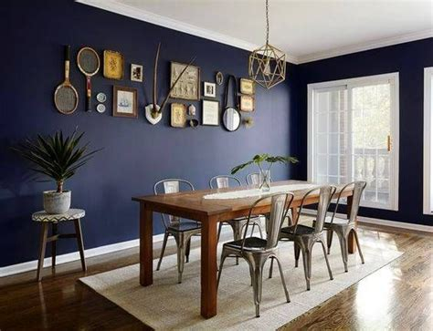 navy blue dining room decor ideas dining room blue