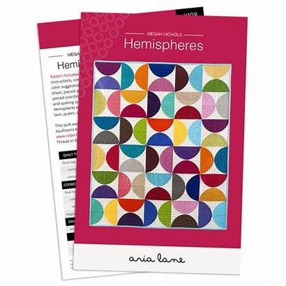 Patterns Quilt Hemispheres Pattern