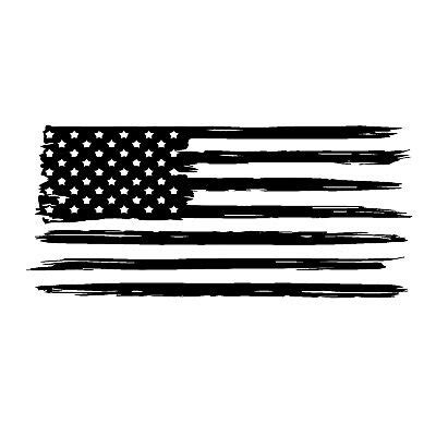 american flag weathered distressed vinyl die cut sticker decal 6 60 picclick