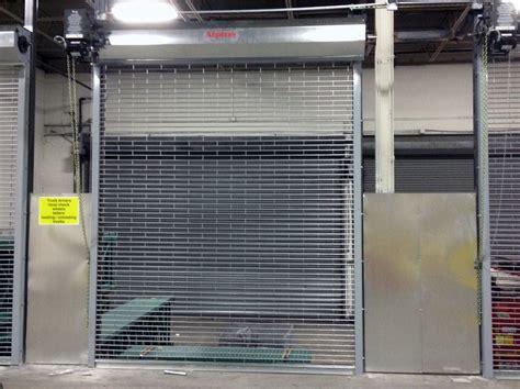 security grilles overhead door