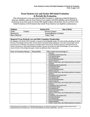 504 plan template 504 plan template 28 images attendance tracking template forms fillable printable section