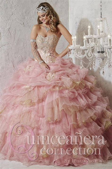 Quinceanera Dress 26781 by House of Wu 26781: French Novelty