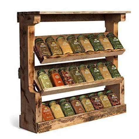 Timber Spice Rack by Wooden Spice Rack Kitchen Dining Furniture Allied