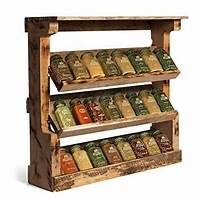 wooden spice racks Wooden Spice Rack, Kitchen & Dining Furniture | Allied ...