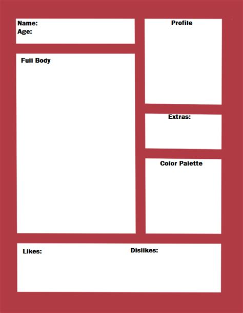 Simple Character Template by kawaii-oekaki-chan on DeviantArt