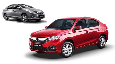 honda amaze sales impressively doubles  compared  city