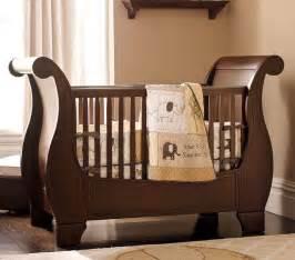 Pottery Barn Crib Sleigh Bed