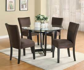 contemporary dining room set modern dining room set with brown chairs casual dinette sets