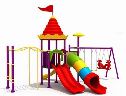 Playground Clipart Equipment Clip Playing Kindergarten Worksheet